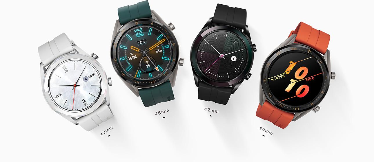 cef1d8074 ساعة HUAWEI WATCH GT, عمر طويل للبطارية، ساعة ذكية بنظام GPS مدمج ...