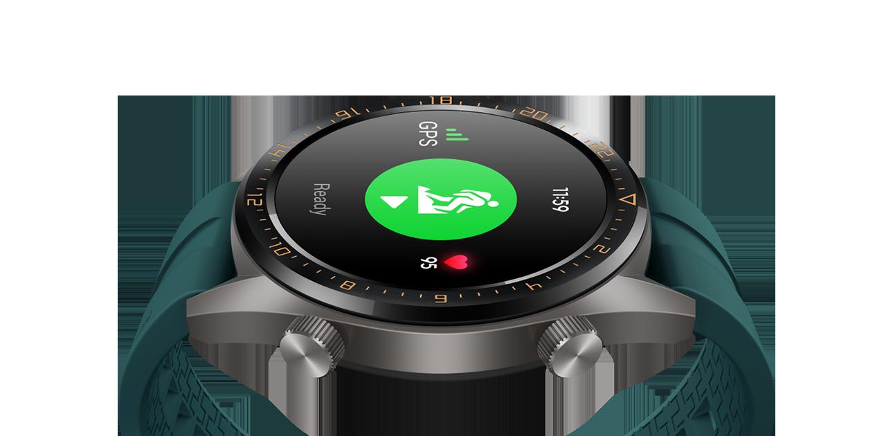 f15f146d5 ساعة HUAWEI WATCH GT, عمر طويل للبطارية، ساعة ذكية بنظام GPS |هواوي ...