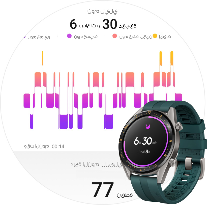 HUAWEI WATCH GT scientific sleep