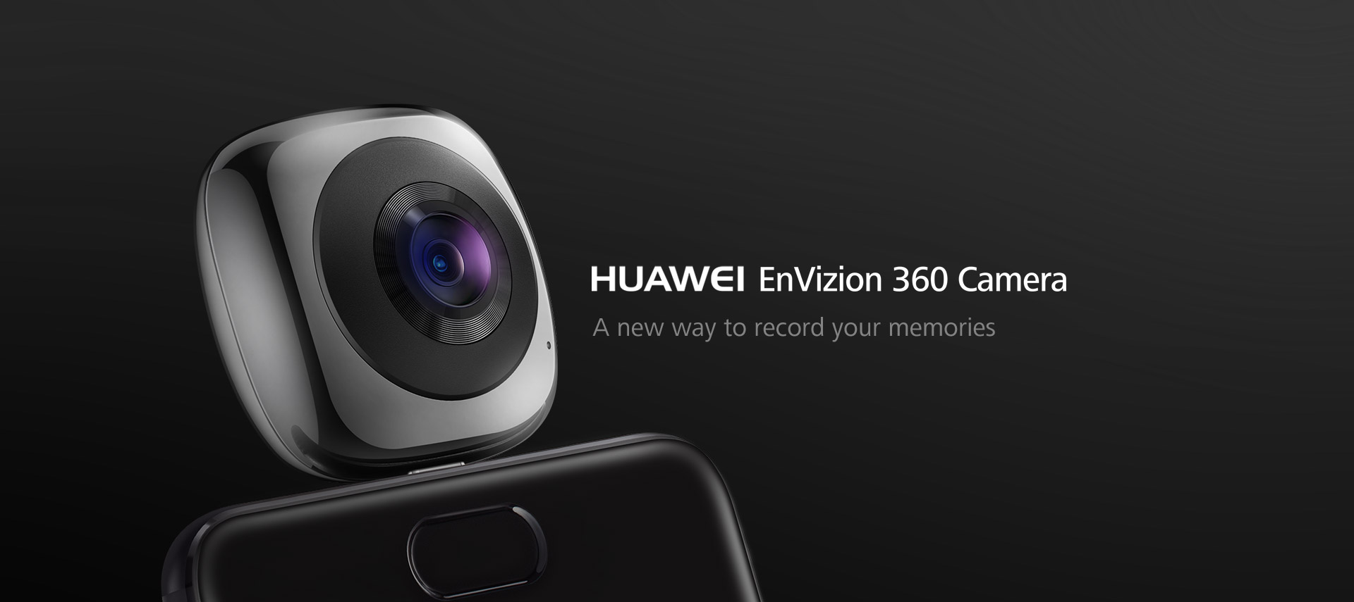 HUAWEI EnVizion 360 Camera, VR, fish eye, 360 panoramic camera
