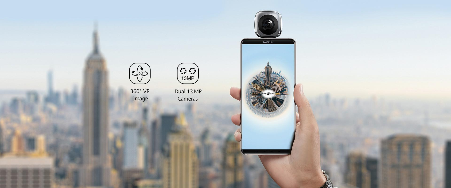 HUAWEI EnVizion 360 Camera, VR, fish eye, 360 panoramic camera