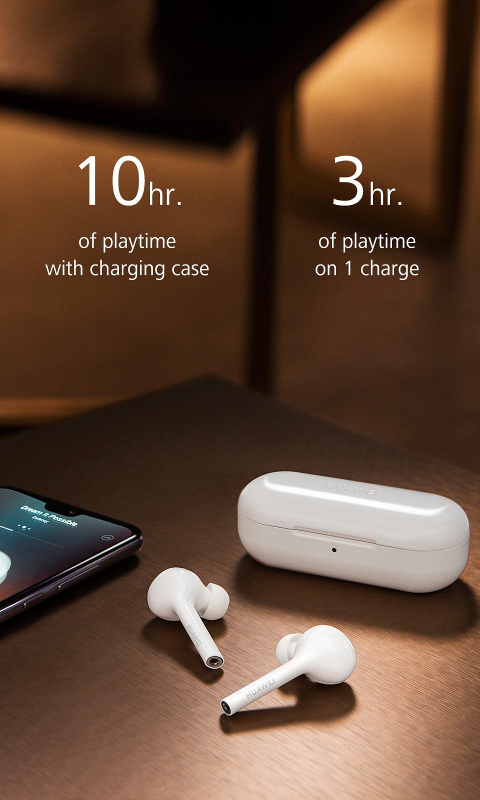 HUAWEI Active Noise Canceling Earphones 3 comfortable wearing experience