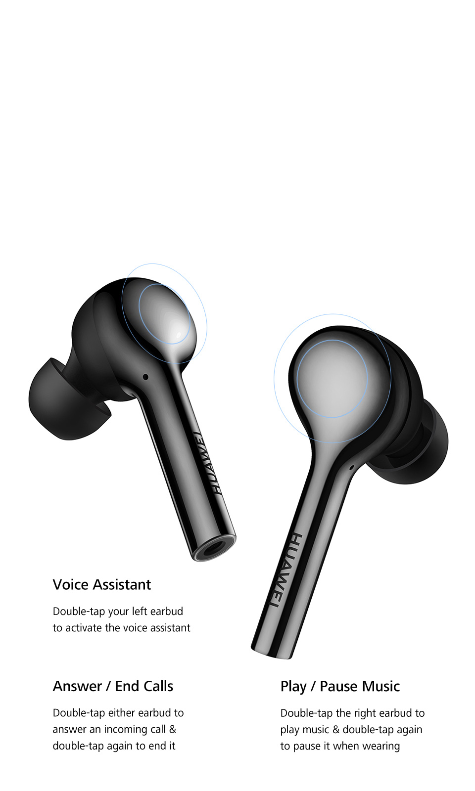 HUAWEI Active Noise Canceling Earphones 3 crystal clear voice