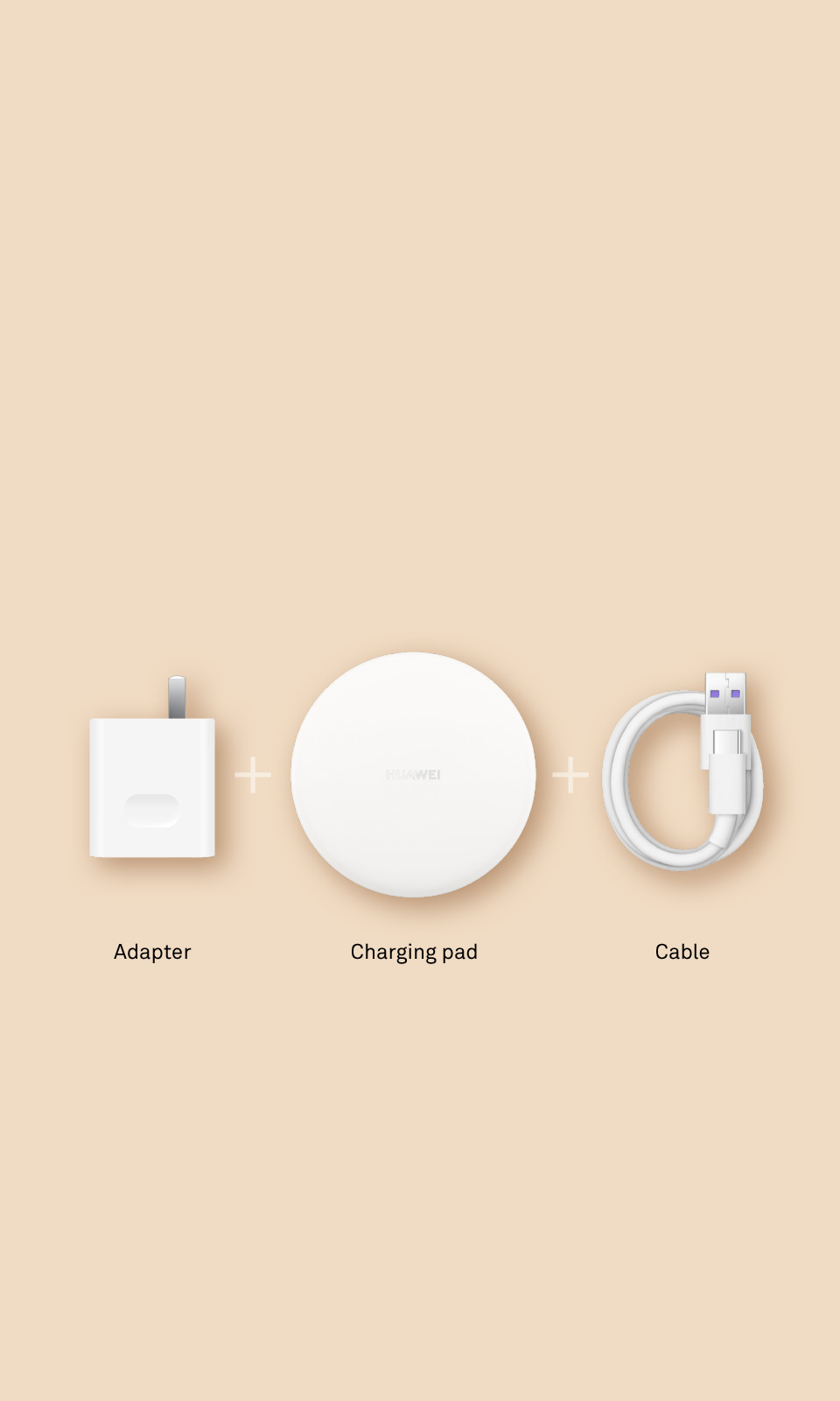 HUAWEI Wireless Charger, Qi standard, universal wireless