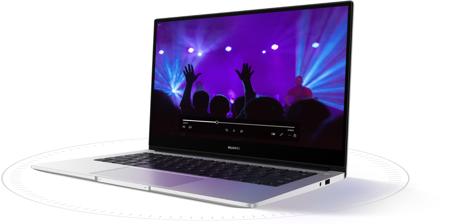 HUAWEI MateBook D 14 big battery