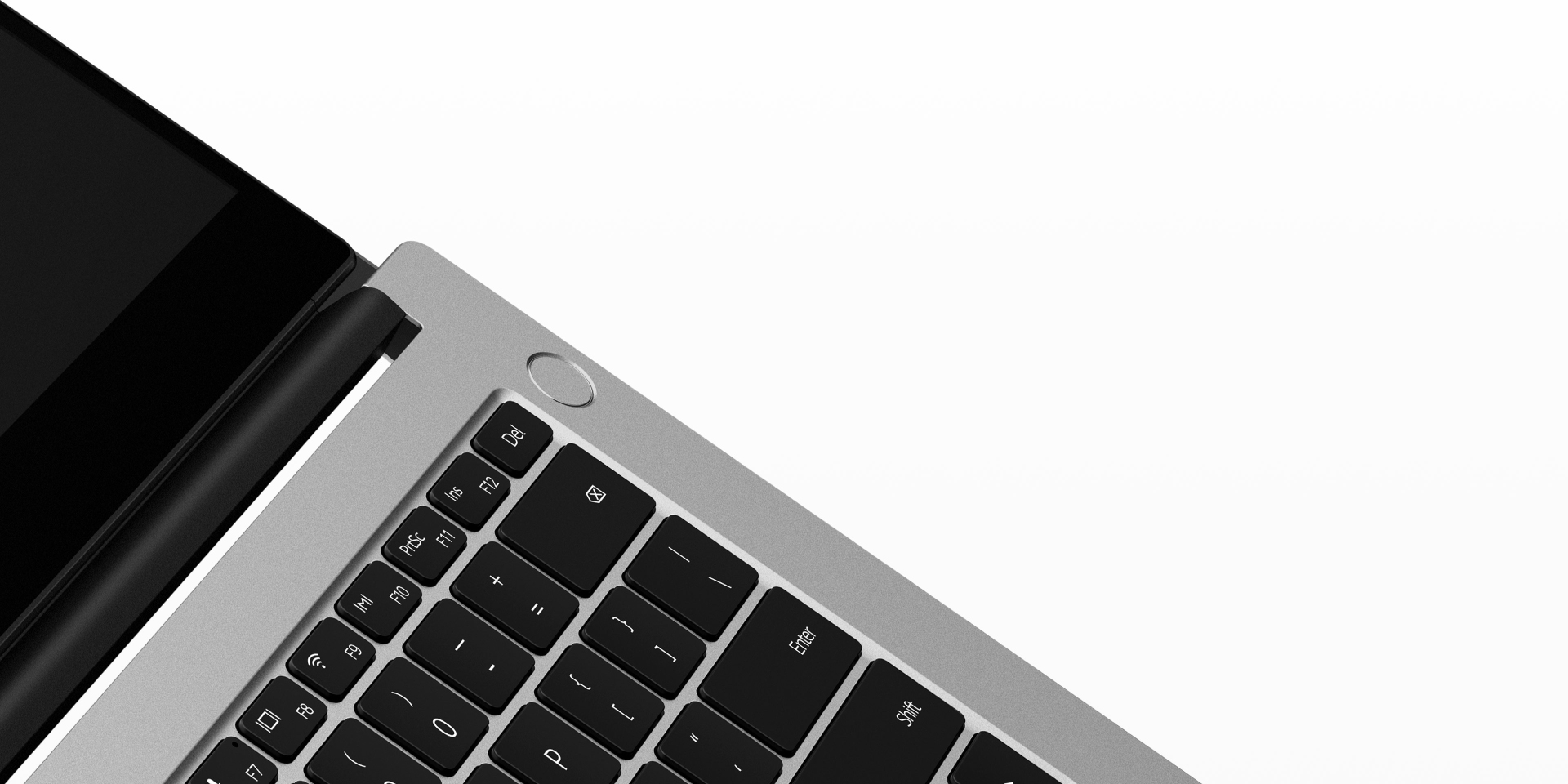 HUAWEI MateBook D 14 touch power button