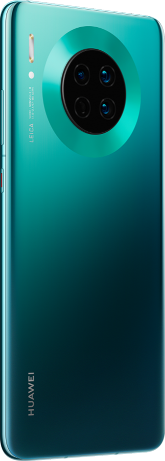 HUAWEI Mate 30 emerald green back