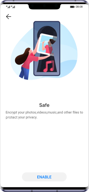 HUAWEI Mate 30 Prosecurity private space