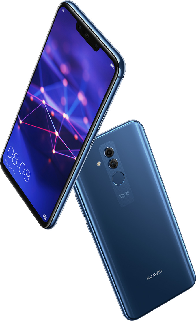 Huawei Mate 20 Lite Smartphone Ai Gaming Quad Camera