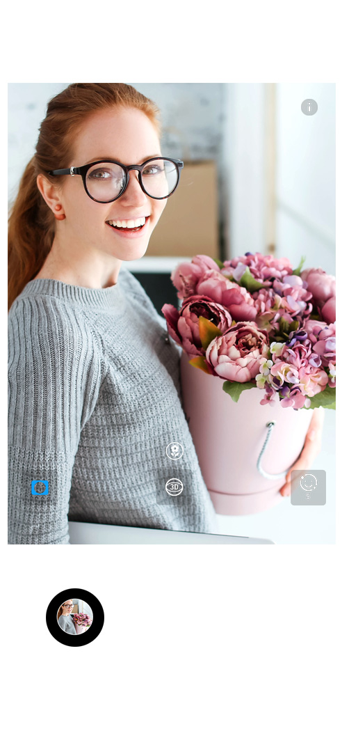 HUAWEI Mate 20 lite selfie camera flower