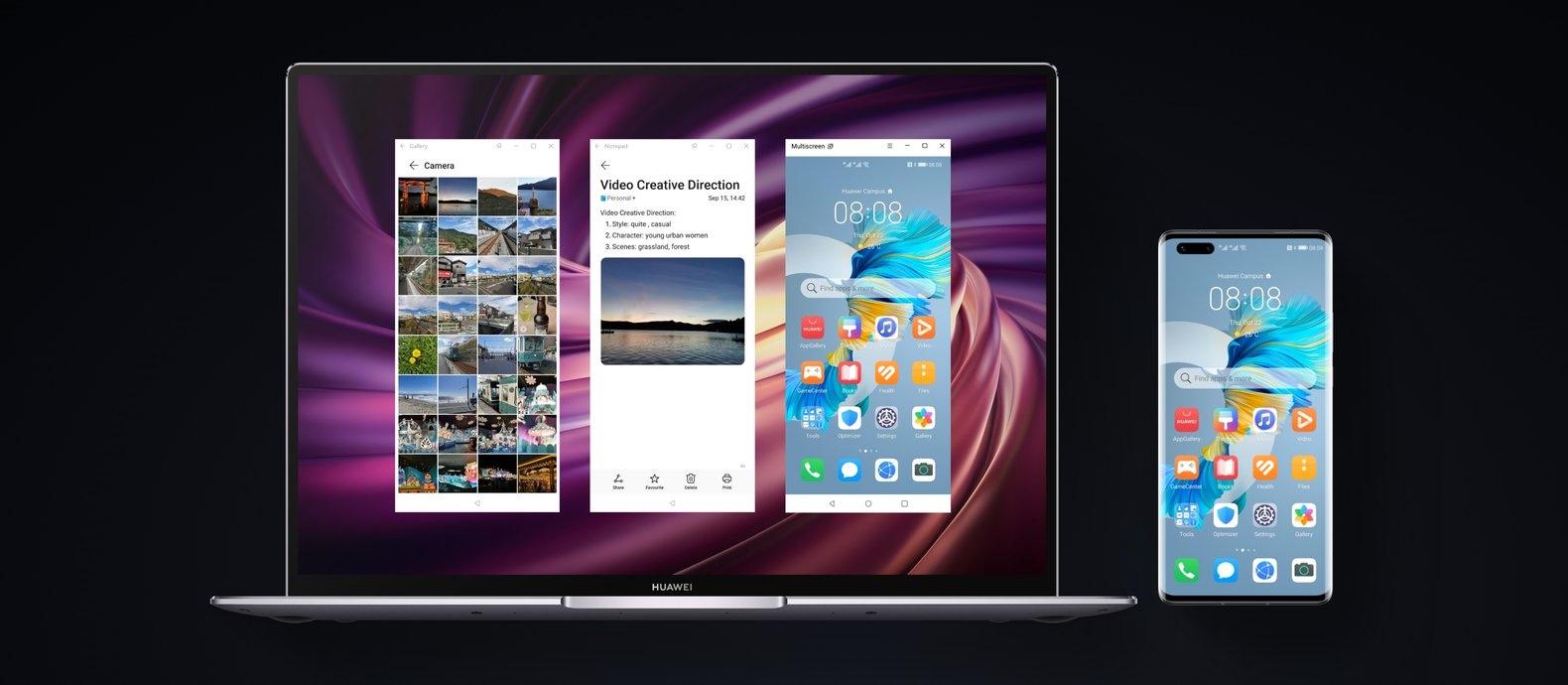 huawei mate 40 pro multi-screen collaboration