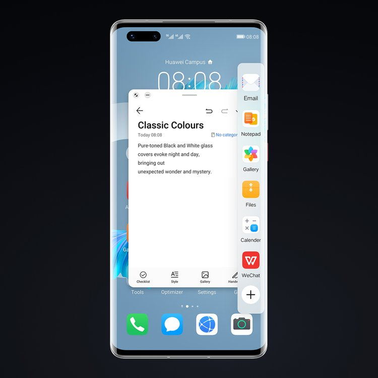 huawei mate 40 pro emui 11 floating window