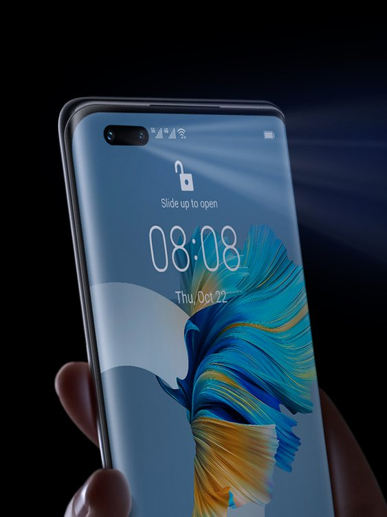 huawei mate 40 pro top features dual biometric identification