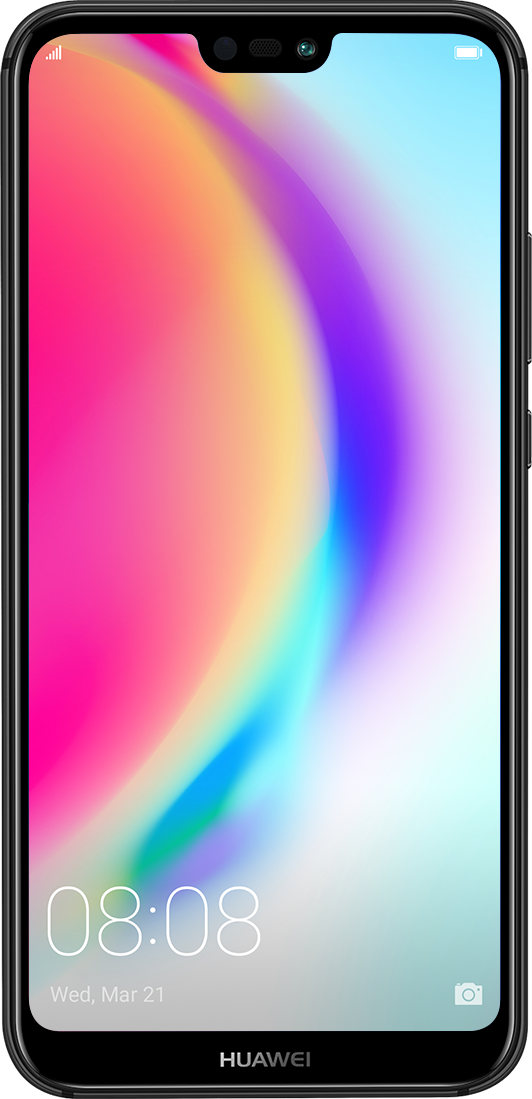 HUAWEI nova 3e vibrant fullview display
