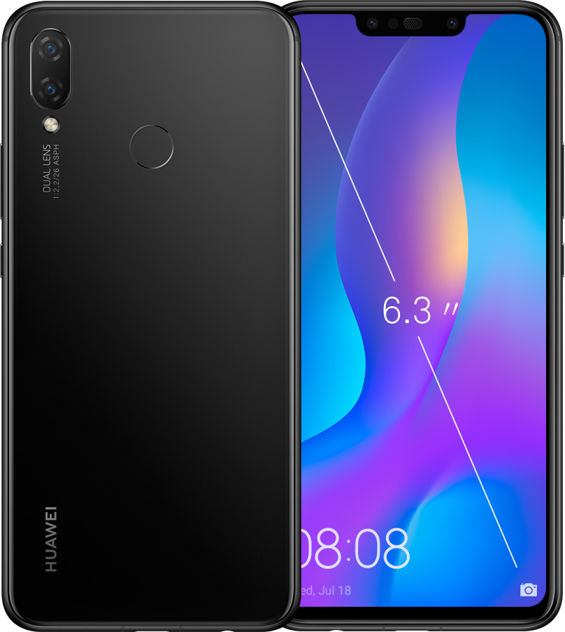 HUAWEI nova 3i black color