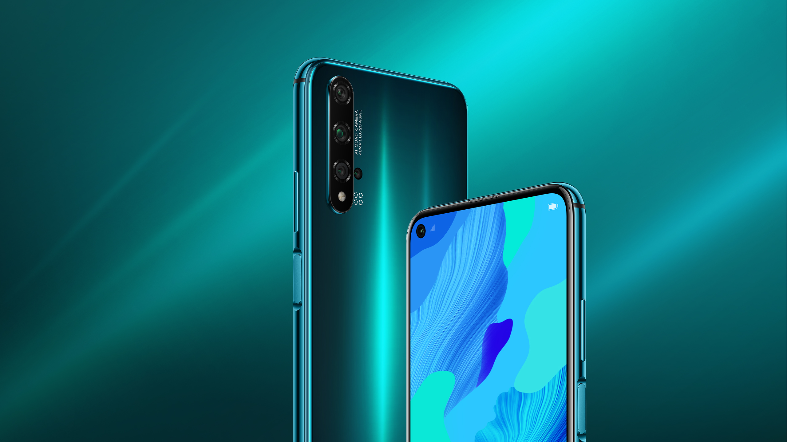 HUAWEI nova 5T color green