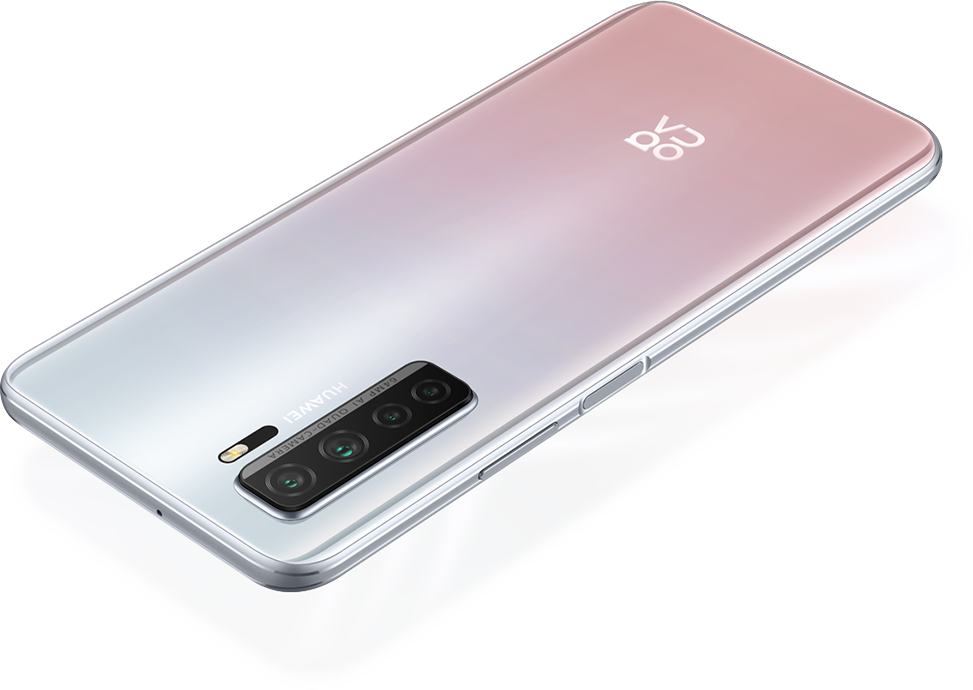 HUAWEI nova 7 SE-Side Mounted Fingerprint unlock-Space Silver