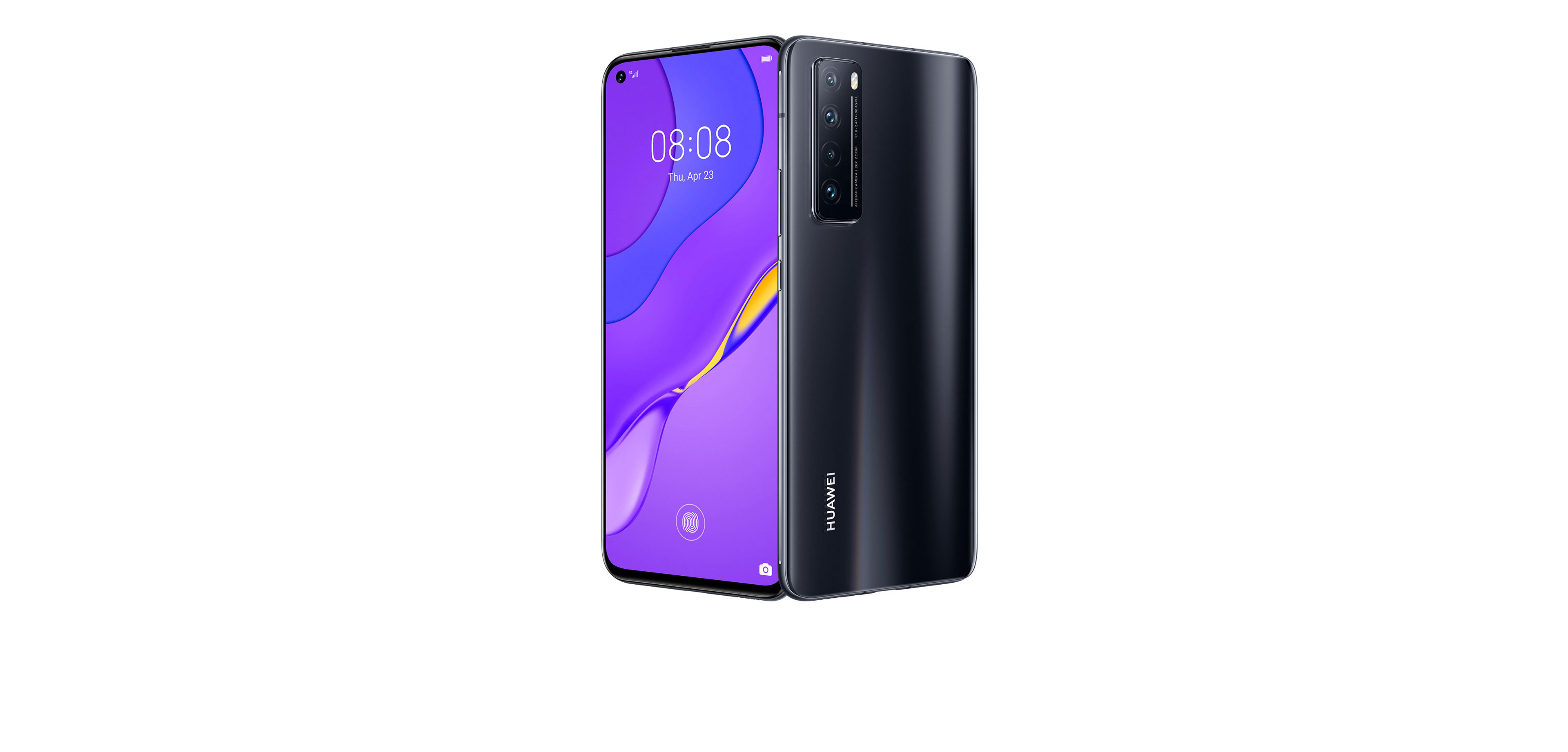 HUAWEI nova 7 Black and ID