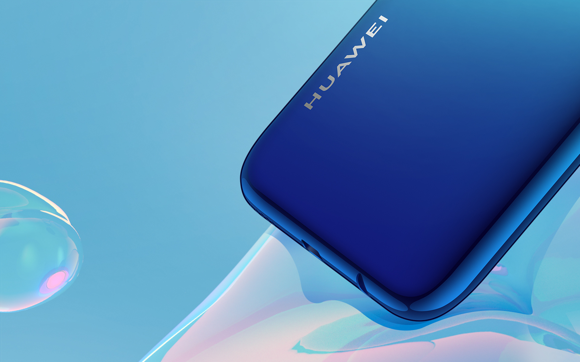 huawei p smart 2020 3D curved design