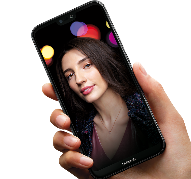HUAWEI P20 lite intelligent light technology – light rebalancing