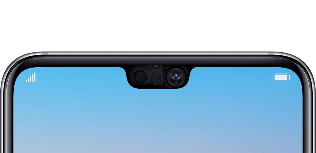 Huawei P20 Pro front camera detailed view