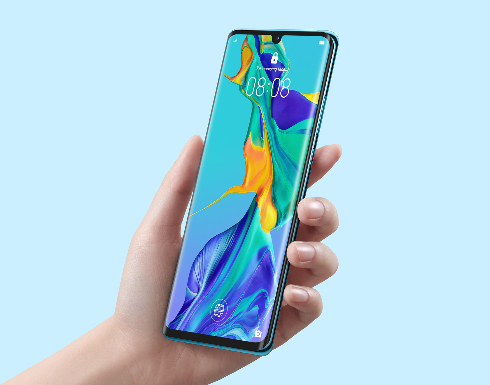 p30 pro in-screen fingerprint