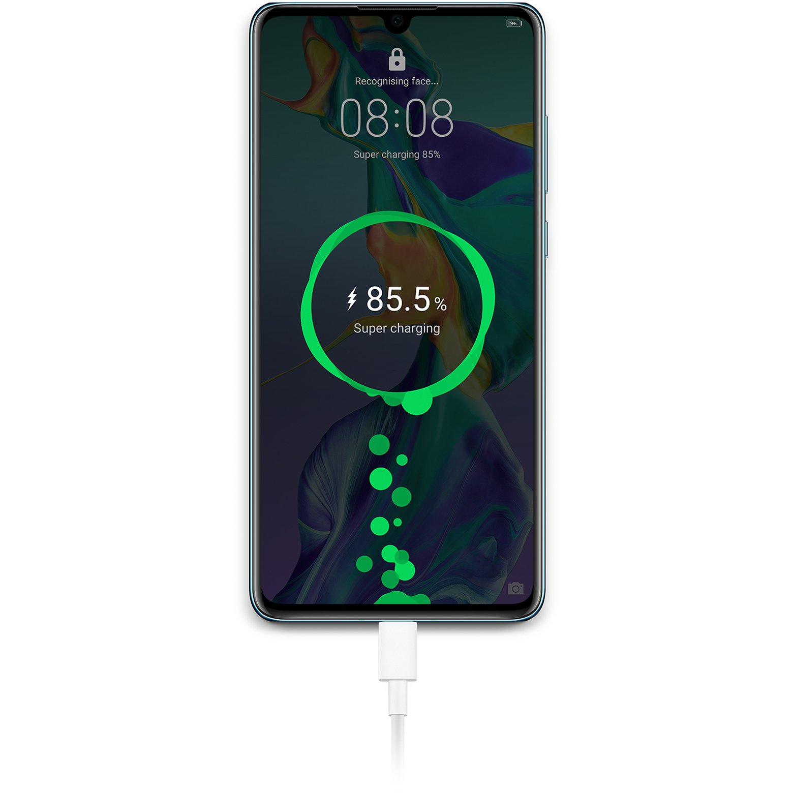 huawei p30 fast wireless charge