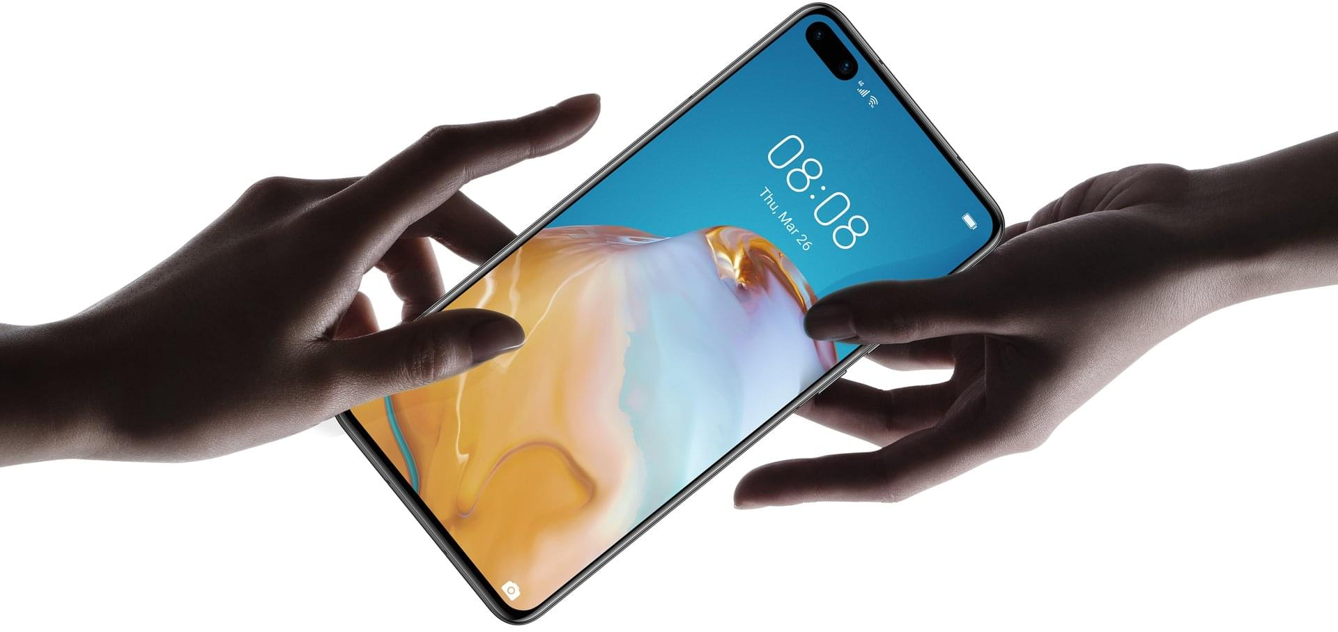 huawei p40 design touch and feel