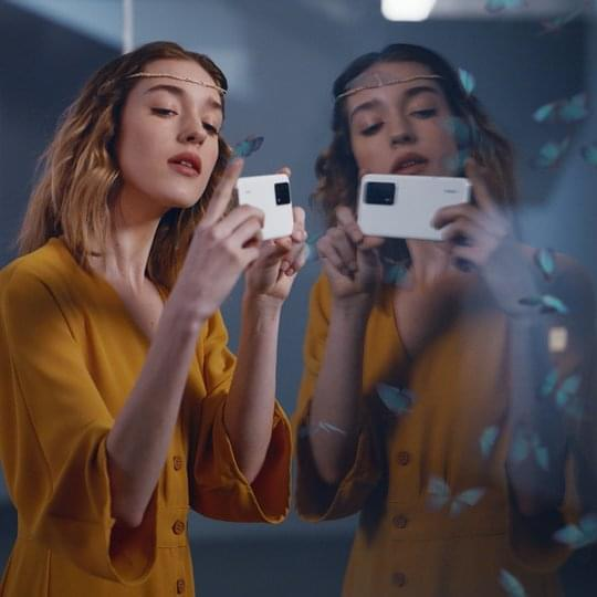 huawei p40 golden snap AI Remove Reflection
