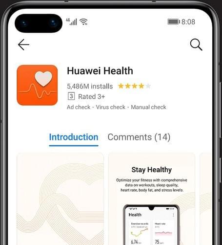 huawei p40 secured app gallery