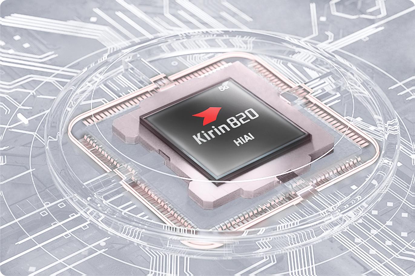 HUAWEI P40 lite 5G –Kirin 820-chipset