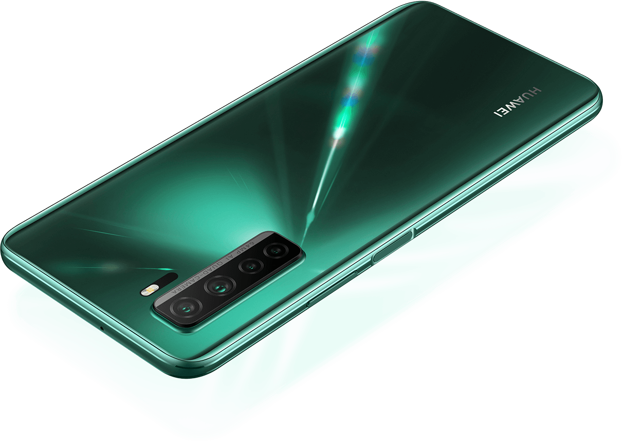 HUAWEI P40 lite 5G Side Mounted Fingerprint unlock