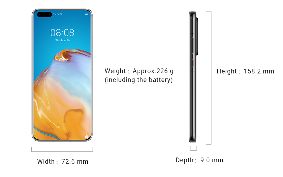 HUAWEI P40 Pro+ Specifications - HUAWEI Global