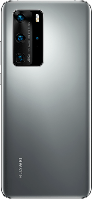 huawei p40 pro silver frost colour back