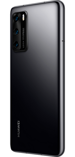 huawei p40 black colour right side