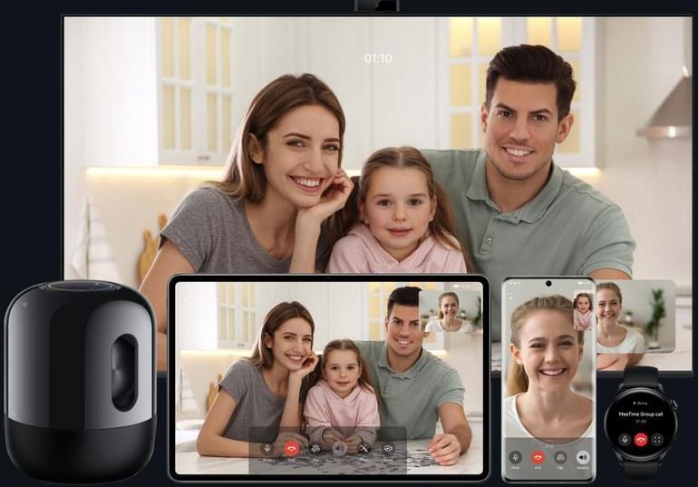 HUAWEI P50 Pro HarmonyOS 2 MeeTime Video Call