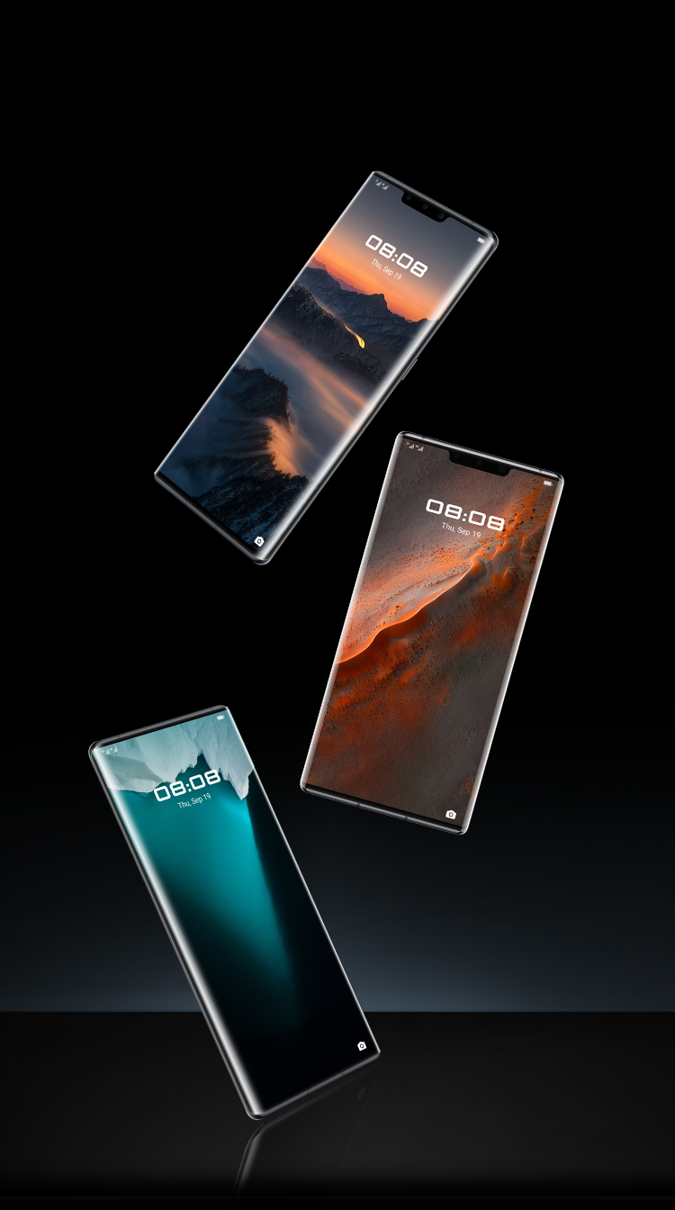 PORSCHE DESIGN HUAWEI Mate 30 RS Customised UI