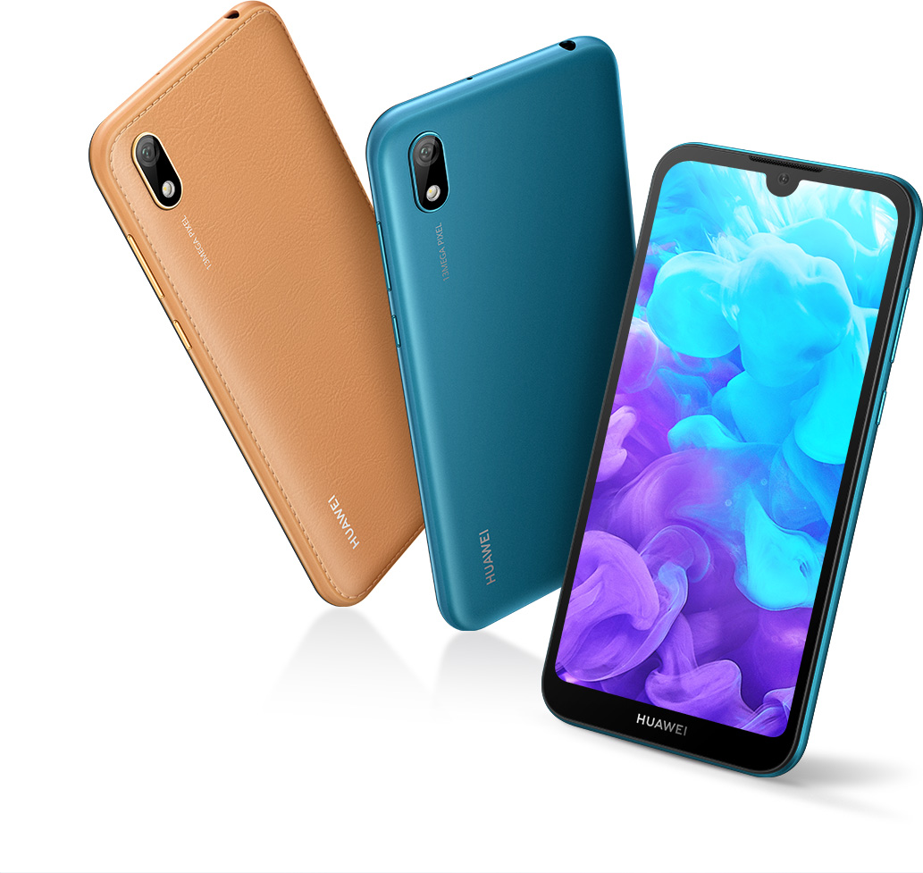 HUAWEI Y5 2019, Faux-Leather Design, Best Budget 32 GB
