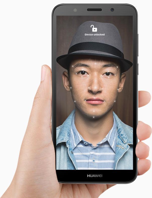 HUAWEI Y5 Prime 2018 Face Unlock