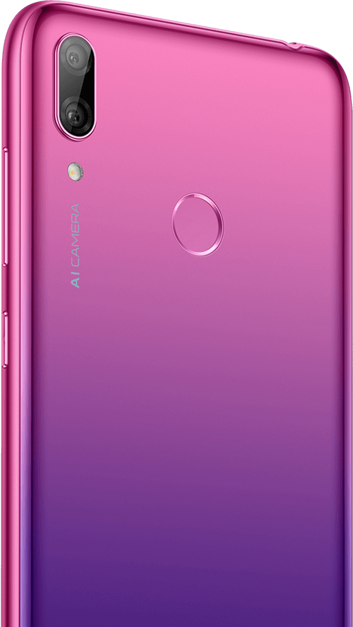 huawei y7 2019-rear camera back