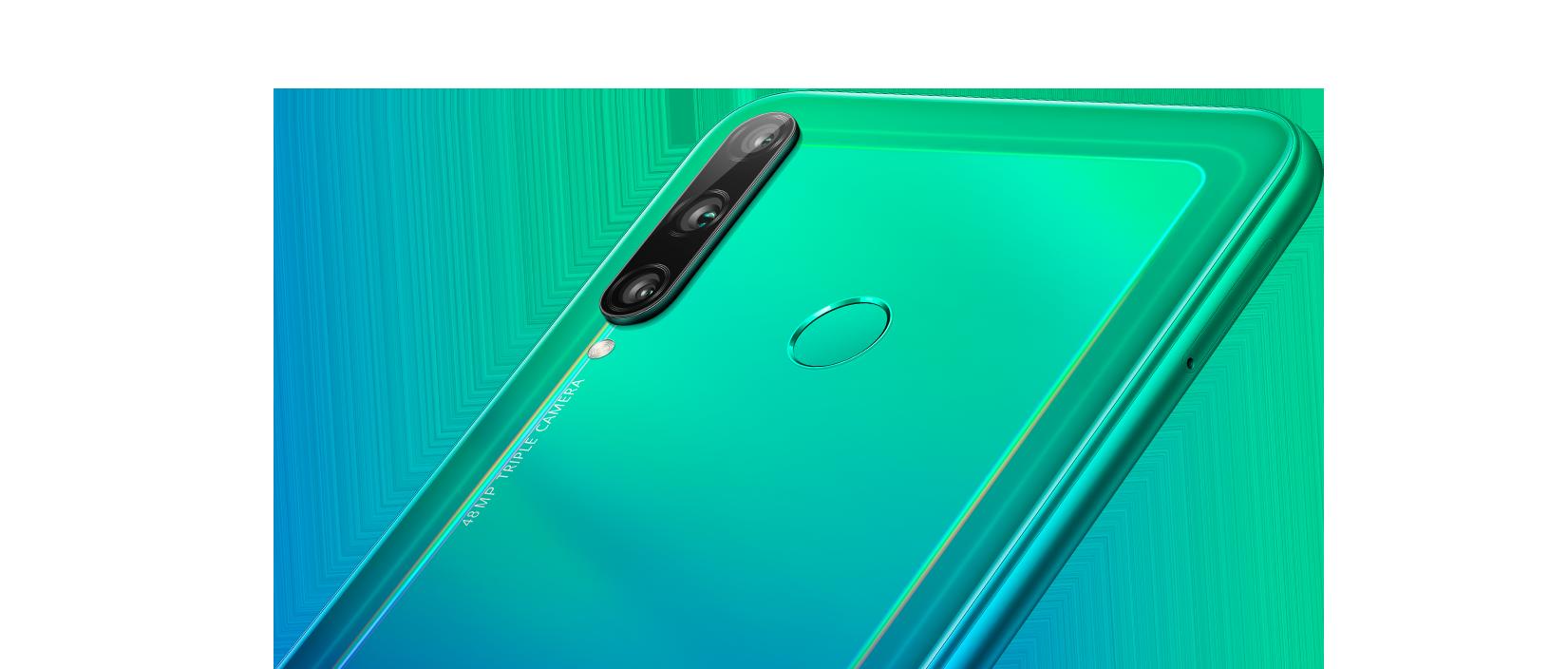 Huawei y7p-teléfono de desbloqueo de huellas dactilares