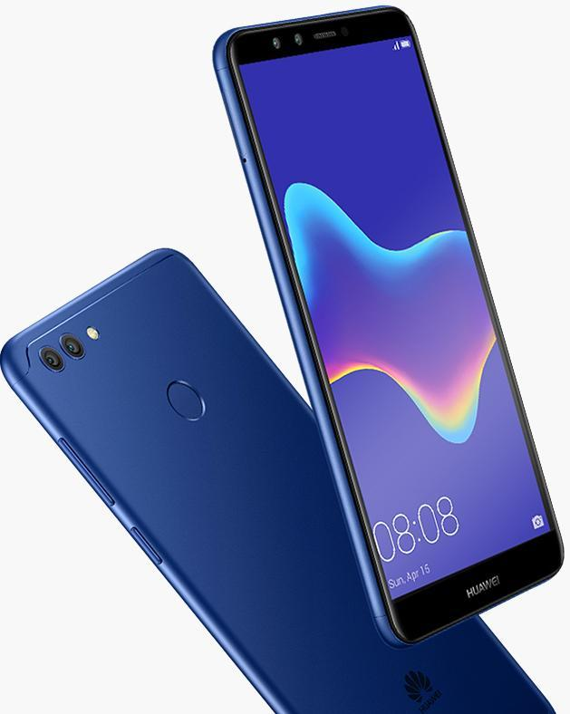 Huawei Y9 2018 Big Battery Dual Camera Best Selfie