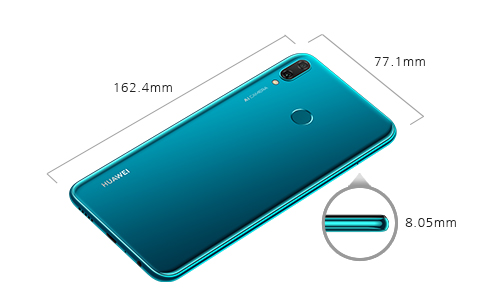sale retailer 8e926 7ef84 HUAWEI Y9 2019 specifications | HUAWEI Global