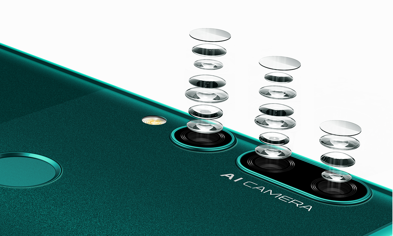 huawei y9 prime 2019 6p rear camera lens