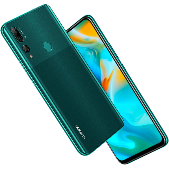 huawei y9 prime 2019 back design color green