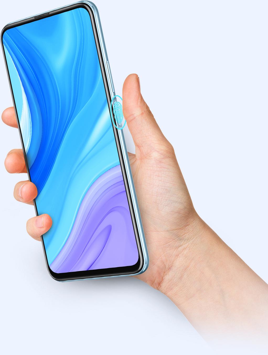 Huawei y9s fingerprint