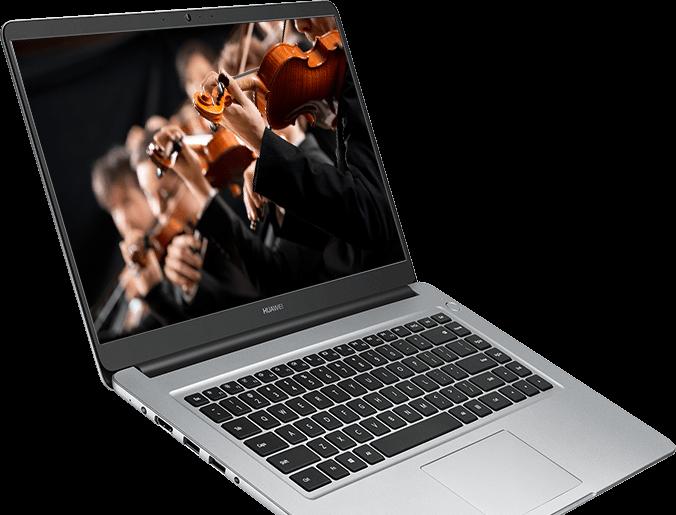 HUAWEI MateBook D 15 6-inch laptop, bezel-less, 256GB SSD/1TB HDD