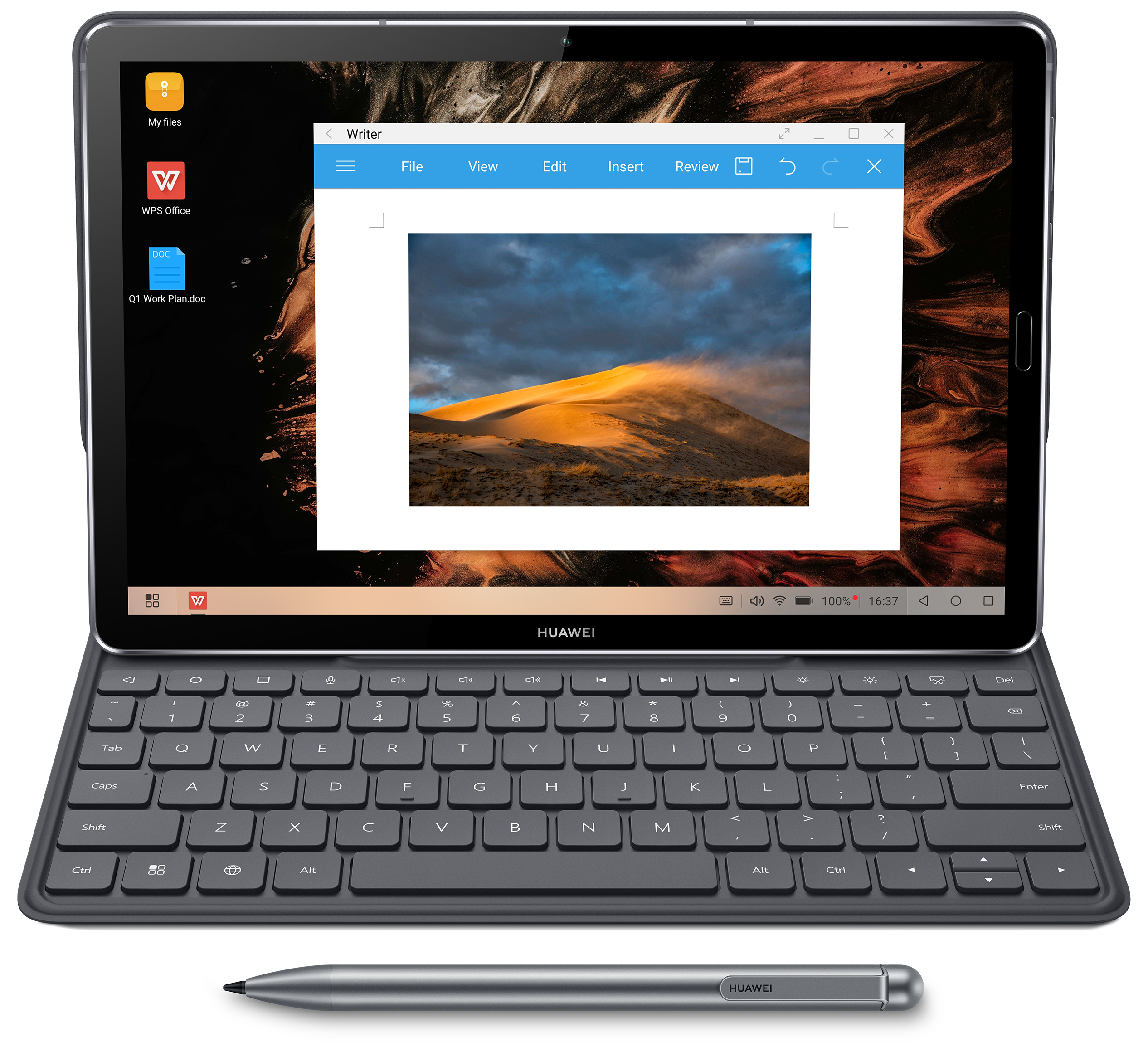"HUAWEI MediaPad M6 10.8"" with PC mode"