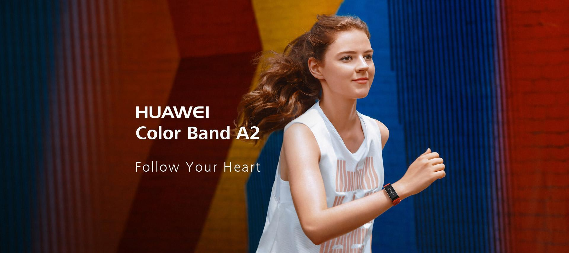HUAWEI Color Band A2, heart rate monitor, fitness band | HUAWEI Global