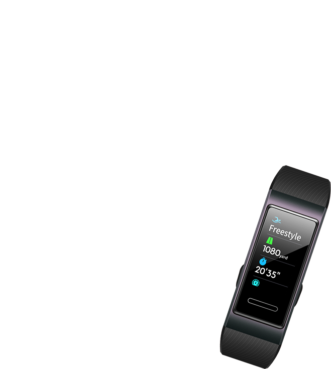 HUAWEI Band 3 Full-Touch Color Display